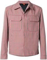 Barena check shirt jacket