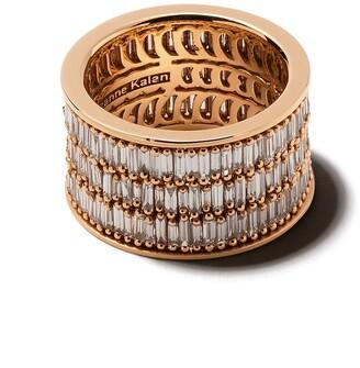Suzanne Kalan 18kt Rose Gold Pave Ring