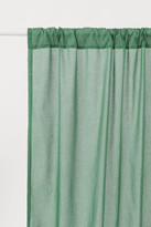 H&M 2-pack Curtain Panels - Green