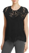 Generation Love Reeves Lace Yoke Top