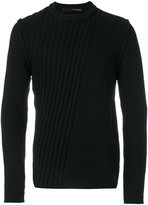 Isabel Benenato ribbed jumper