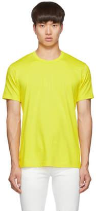 Comme des Garcons Yellow Logo T-Shirt