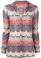 Missoni zigzag pattern shirt