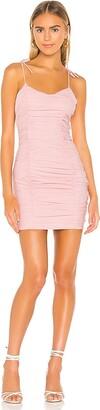 superdown Fawn Ruched Mini Dress