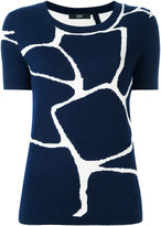 Steffen Schraut tiles sweatshirt - women - Nylon/Polyester/Viscose/Cashmere - 34