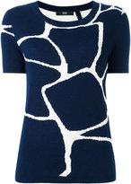 Steffen Schraut tiles sweatshirt - women - Nylon/Polyester/Viscose/Cashmere - 40