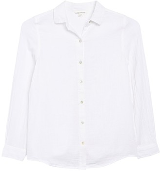 BeachLunchLounge James Button Front Tunic Shirt