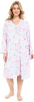 Carole Hochman Plus Size Robe & Gown Set