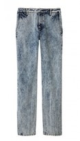 Tibi Acid Wash Slouch Jean
