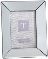 "Twos Company Two's Company Reflections Beveled Mirror Photo Frame, 5"" x 7"""