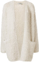 Vince open front cardigan - women - Polyester/Cashmere/Wool/Other fibres - XS