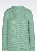 Emporio Armani Sweater In Alpaca Wool