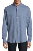 Canali Pindot Jersey Shirt