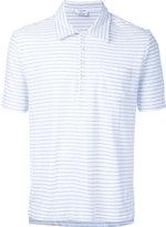 Thom Browne striped polo shirt - men - Cotton - 1