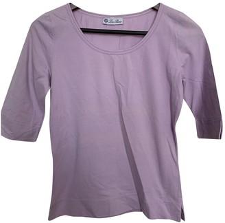Loro Piana Purple Cotton Tops