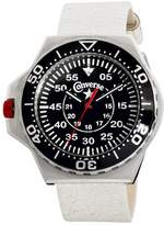 Converse Men's VR008150 Foxtrot Culture Distressed White Strap Watch