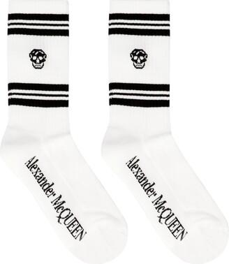 Alexander McQueen Cotton Sport Socks