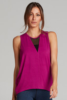 ChiChi Active - Jade Muscle Tank In Raspberry