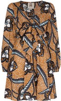 Figue Willow printed mini dress