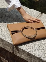 Double Ring Clutch (caramel Brown)
