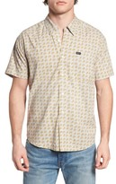 RVCA Men's Simon Paisley Woven Shirt