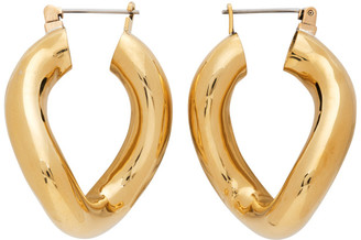 Laura Lombardi Gold Anima Hoop Earrings