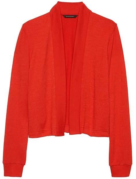 1ddea577 Red Crop Cardigan - ShopStyle