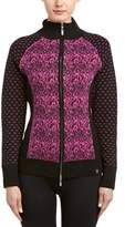 Neve Eloise Full-zip Wool-blend Cardigan.