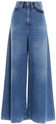 MM6 MAISON MARGIELA High-Waist Flared Jeans