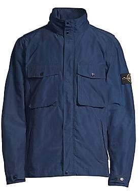 e6ea9ed0584 Mens blue field jacket
