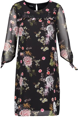 Taifun Women's Kleid Gewebe Dress