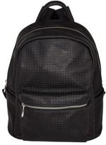 Urban Originals 'Lola' Perforated Vegan Leather Backpack - Black
