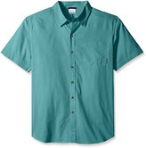 Columbia Men's Big and Tall Thompson Hill Solid Short Sleeve Shirt