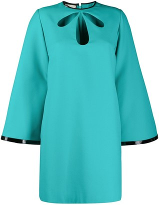 Gucci Cutout Short Shift Dress