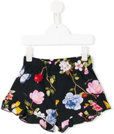 MonnaLisa floral patterned shorts - kids - Cotton - 4 yrs