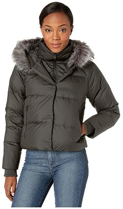 The North Face Deallo Down Crop Jacket (New Taupe Green) Women's Coat