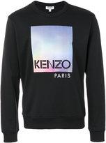 Kenzo printed jumper - men - Cotton/Polyamide - S
