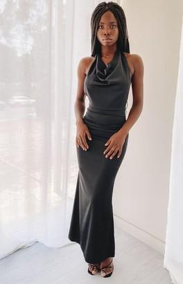 The Edit Margaret Maxi Formal Dress Black