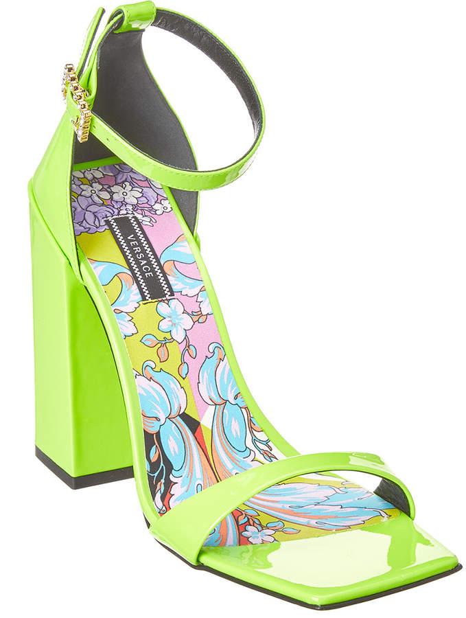 b8b00b3411 Versace Ankle Strap Women's Sandals - ShopStyle