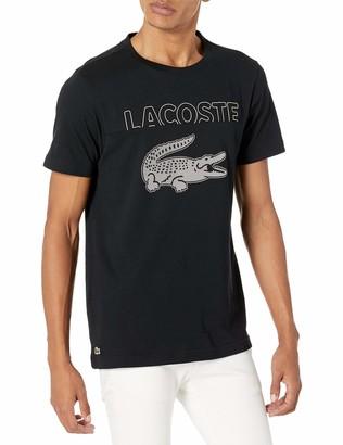 Lacoste Men's Short Sleeve Crocodile Graphic T-Shirt