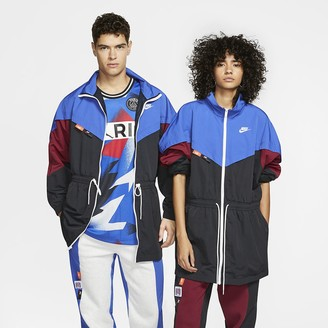 Nike Woven Track Jacket Sportswear Icon Clash