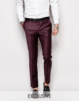 Noose & Monkey Suit Trousers In Skinny Fit