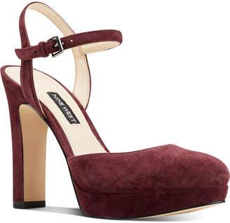 Nine West Aivian Platform Pumps Women Shoes