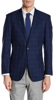 Tommy Hilfiger Ethan Two Button Notch Lapel Print Sport Coat