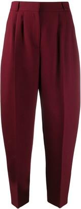 Alexander McQueen high-waist peg trousers