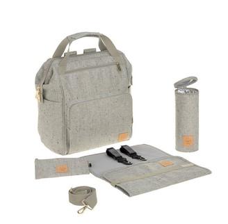 Lassig Glam Goldie Backpack Diaper Bag Boucle Beige