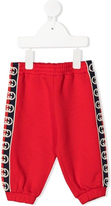 Gucci Kids GG trim track pants