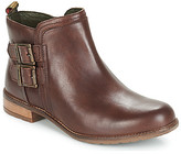 Barbour SARAH LOW BUCKLE women's Low Ankle Boots in Brown