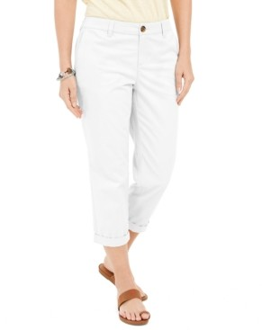 Style&Co. Style & Co Chino Capri Pants, Created for Macy's