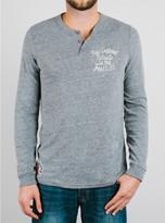 Junk Food Clothing Nfl New England Patriots Henley-steel-s